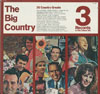 Cover: Various Country-Artists - The Big Country (3 LP Box) 36 Country Greats