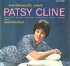 Cover: Patsy Cline - Patsy Cline / Sentimentally Yours