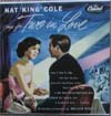 Cover: Nat King Cole - Sings For two in Love (25 cm)