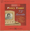 Cover: Perry Como - TV Favorites (25 cm)