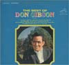 Cover: Don Gibson - Don Gibson / The Best of Don Gibson