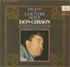 Cover: Don Gibson - Don Gibson / The King Of Counrty Soul