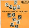 Cover: RCA Sampler - Great Artists At Their Best (Vol. 2 Pop Singers)