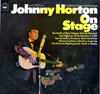 Cover: Horton, Johnny - On Stage