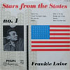 Cover: Laine, Frankie - Stars From the States No. 1: Frankie Laine (25 cm)