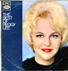 Cover: Peggy Lee - Peggy Lee / The Best of