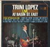 Cover: Trini Lopez - Trini Lopez / Live At Basin St. East
