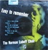 Cover: Norman Luboff Chor - Norman Luboff Chor / Easy To Remember (25 cm)