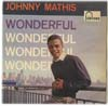 Cover: Johnny Mathis - Johnny Mathis / Wonderful (25 cm)