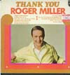 Cover: Roger Miller - Roger Miller / Thank You