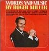 Cover: Miller, Roger - Words And Music