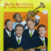 Cover: Mills Brothers - The Mills Brothers & Louis Armstrong