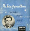 Cover: Guy Mitchell - Guy Mitchell / The Voice Of Your Choice (25 cm)
