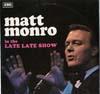 Cover: Matt Monro - Matt Monro / In The Late Late Show