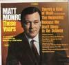 Cover: Matt Monro - Matt Monro / These Years