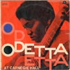 Cover: Odetta - At Carnegie Hall (25 cm)