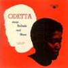 Cover: Odetta - Sings Ballads and Blues