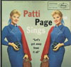 Cover: Page, Patti - Sings Let´s Get Away From It all