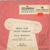 Cover: Robeson, Paul - Swing Low Sweet Chariot (25 cm)