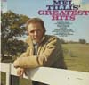 Cover: Mel Tillis - Mel Tillis / Greatest Hits