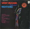 Cover: Sarah Vaughan - Sarah Vaughan / Night Song Volume 1