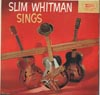 Cover: Slim Whitman - Sings
