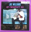 Cover: Joe Williams - Joe Williams / At Newport 63