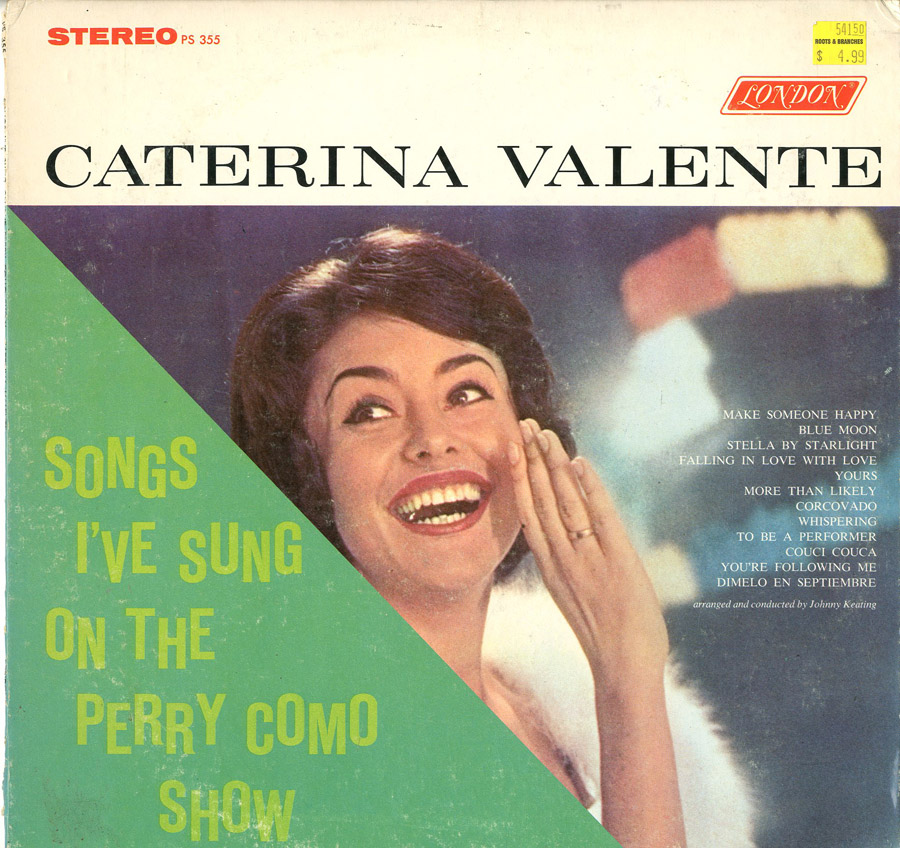 Albumcover Caterina Valente - Songs I´ve Sung On The Perry Como Show