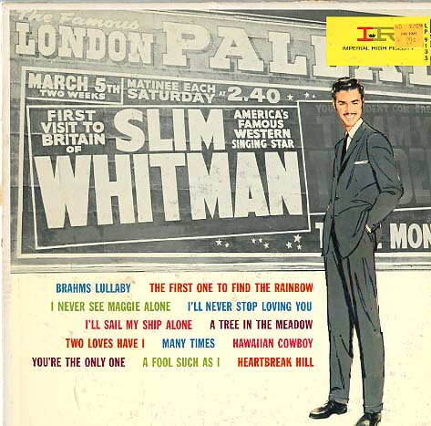Albumcover Slim Whitman - Slim Whitman - First Visit To Britain