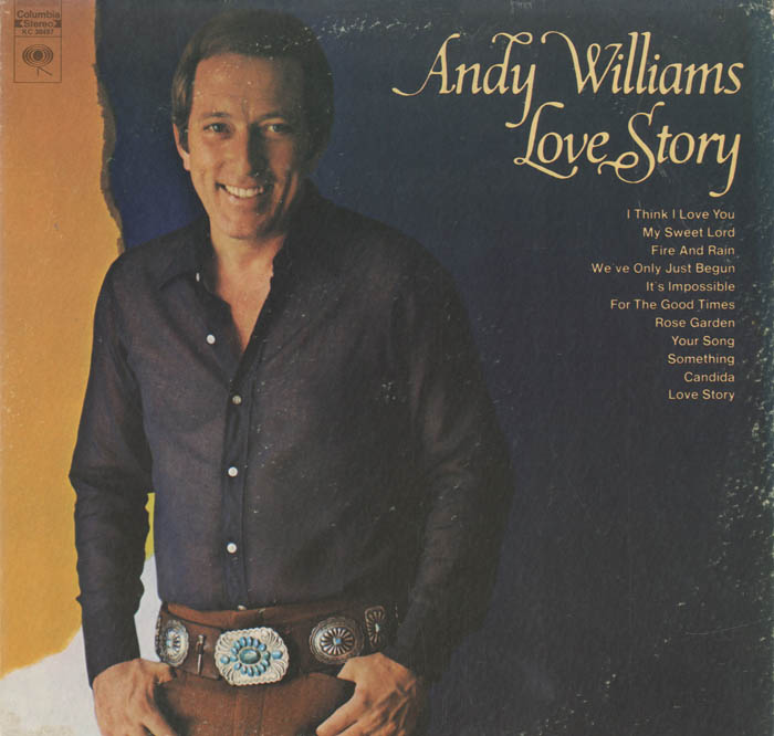 Albumcover Andy Williams - Love Story