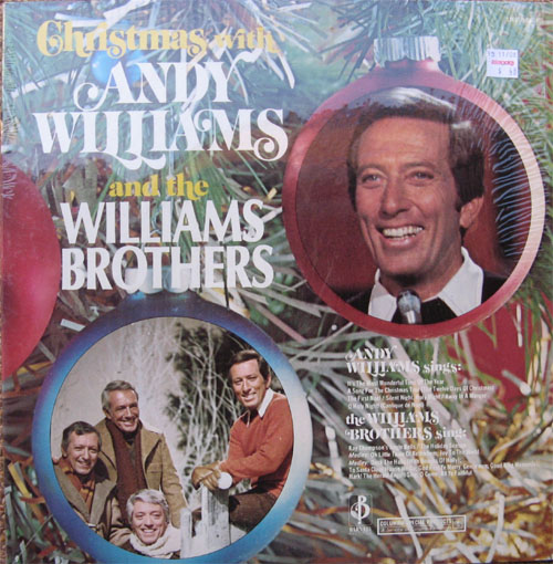 Albumcover Andy Williams - Christmas With Andy Williams And The Williams Brothers