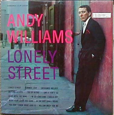 Albumcover Andy Williams - Lonely Street
