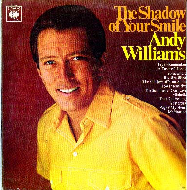 Albumcover Andy Williams - The Shadow Of Your Smile