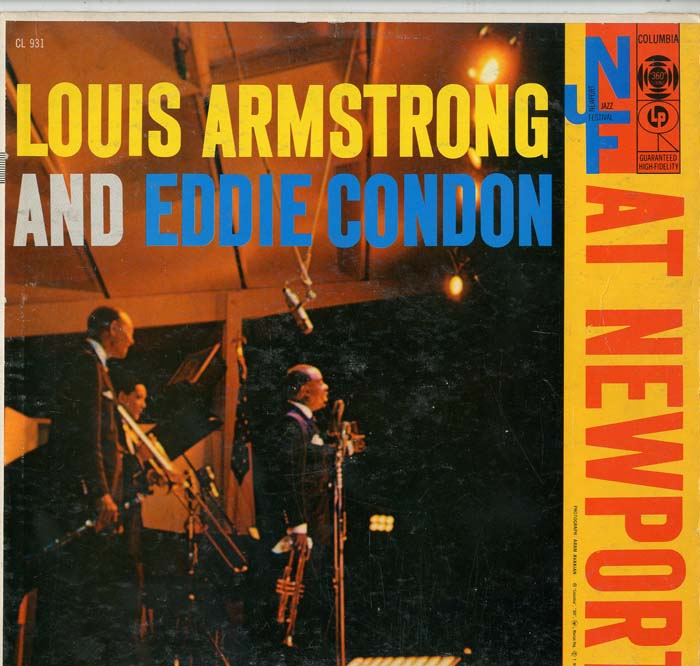 Albumcover Louis Armstrong - Louis Armstrong and Eddie Condon at Newport