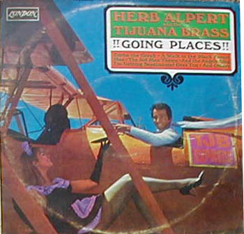 Albumcover Herb Alpert & Tijuana Brass - Going Places