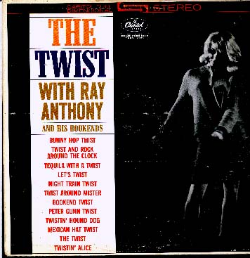Albumcover Ray Anthony - The Twist With Ray Anthony