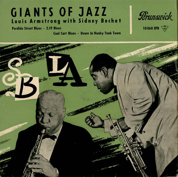 Albumcover Louis Armstrong - Giants of Jazz (EP)
