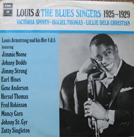 Albumcover Louis Armstrong - Louis & The Blues Singers 1925 - 1929