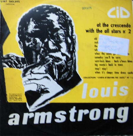 Albumcover Louis Armstrong - At The Crescendo  Vol.1