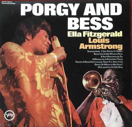 Herberts Oldiesammlung Secondhand LPs Louis Armstrong und ... Ella Fitzgerald Porgy And Bess
