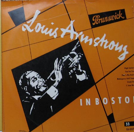 Albumcover Louis Armstrong - Louis Armstrong In Boston (25 cm)