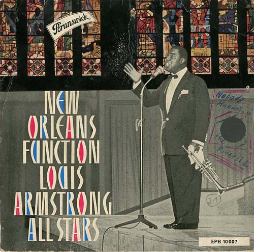 Albumcover Louis Armstrong - New Orleans Function / On The Sunny Side Of The Street
