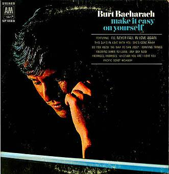 Albumcover Burt Bacharach - Make It Easy On Yourself