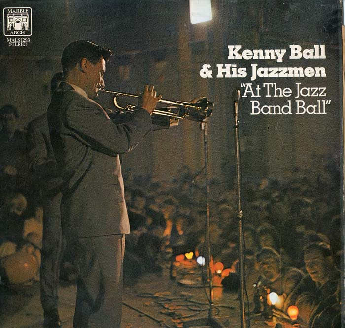 Albumcover Kenny Ball and his Jazzmen - At The Jazz Band Ball