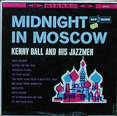 Albumcover Kenny Ball and his Jazzmen - Midnight In Moscow
