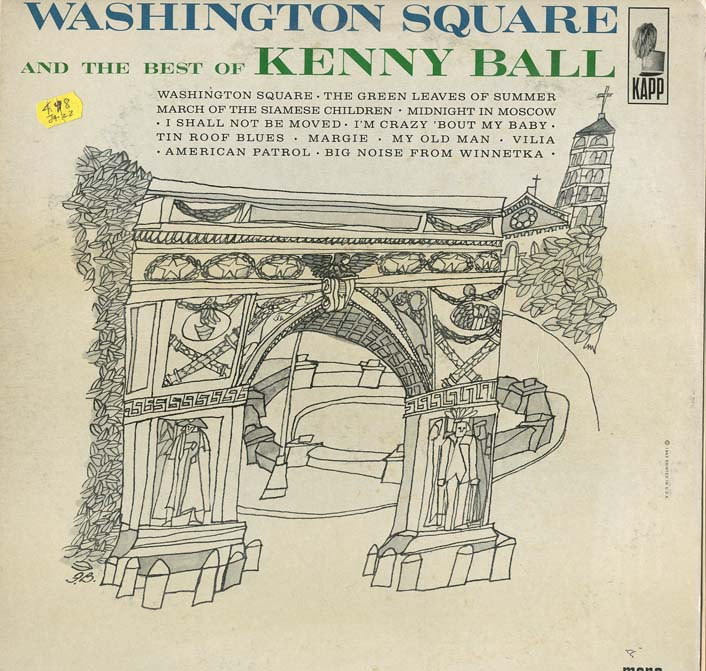 Albumcover Kenny Ball and his Jazzmen - Washington Square and the Best of Kenny Ball