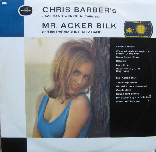 Albumcover Barber & Bilk - Chris Barber´s Jazzband with Ottilie Patterson / Mr. Acker Bilk and his Paramount Jazzband