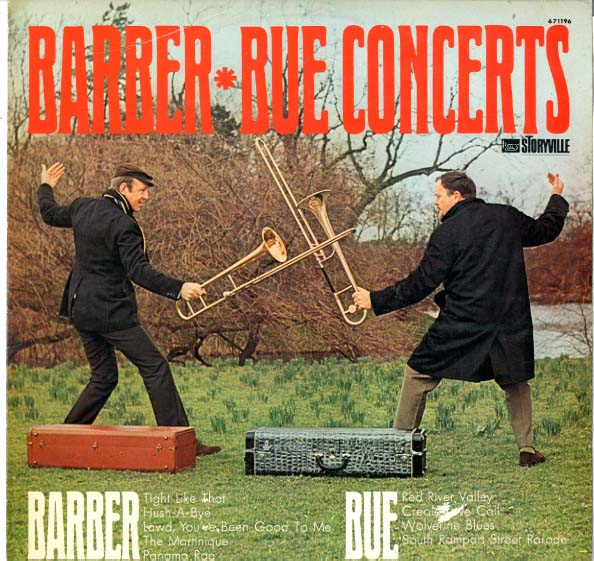 Albumcover Chris Barber & Papa Bue - Barber Bue Concerts