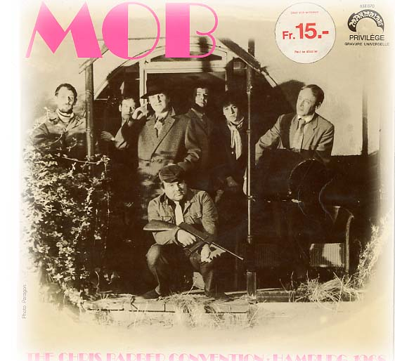 Albumcover Chris Barber - MOB - The Chris Barber Convention - Hamburg 1968
