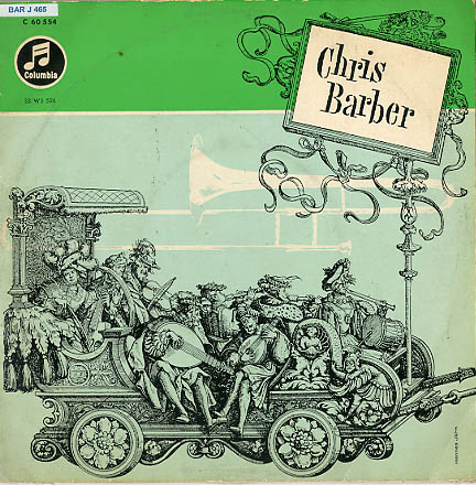 Albumcover Chris Barber - Chris Barber (25 cm)
